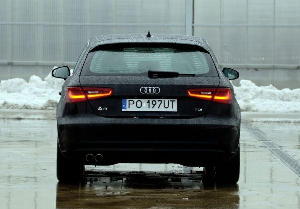Audi A3 III - tył