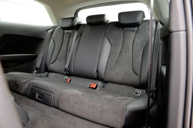 Audi A3 III - tylna kanapa