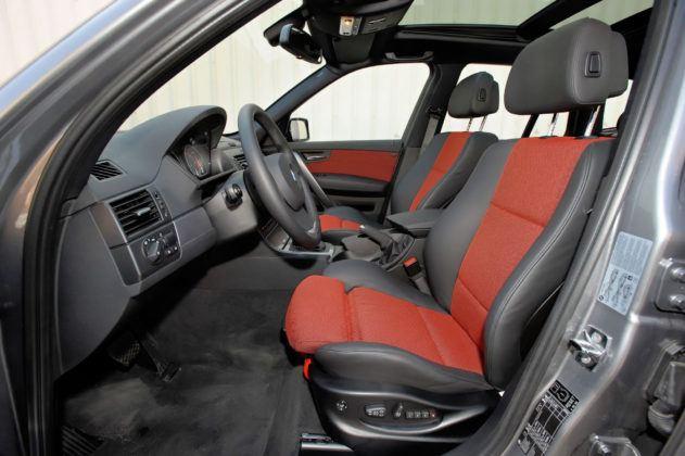 BMW X3 (E83) - fotel kierowcy
