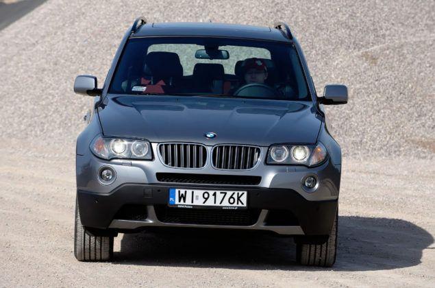 BMW X3 (E83) - przód
