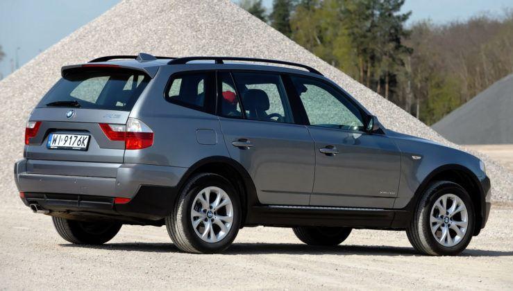 BMW X3 (E83) - tył