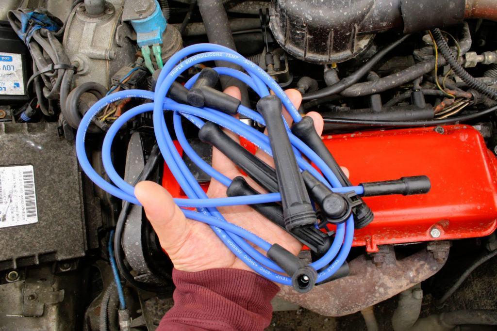 Benzynowe - przewody zapłonowe