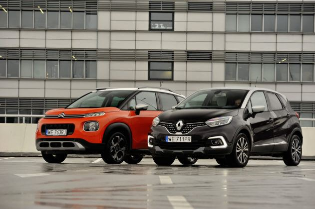 Citroen C3 Aircross, Renault Captur