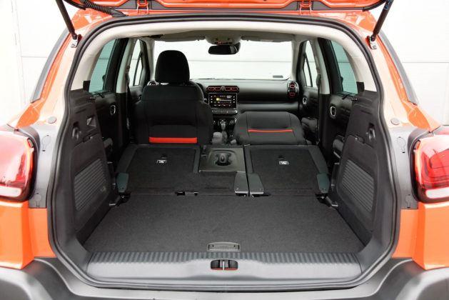 Citroen C3 Aircross - bagażnik