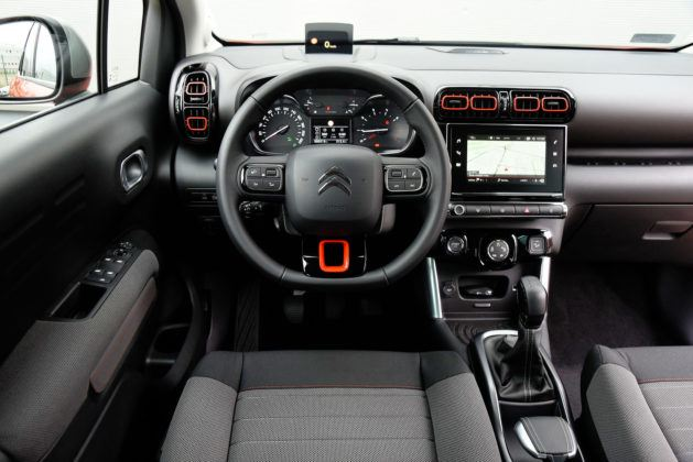 Citroen C3 Aircross - deska rozdzielcza