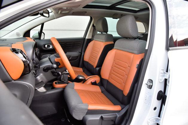 Citroen C3 Aircross - fotel kierowcy