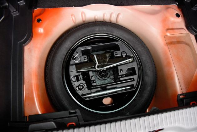 Citroen C3 Aircross - koło zapasowe