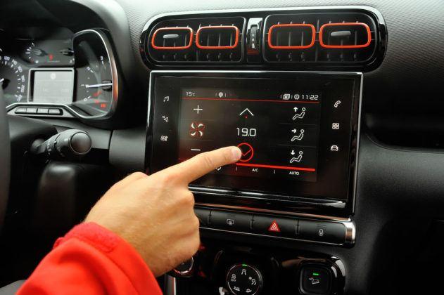 Citroen C3 Aircross - regulacja klimatyzacji