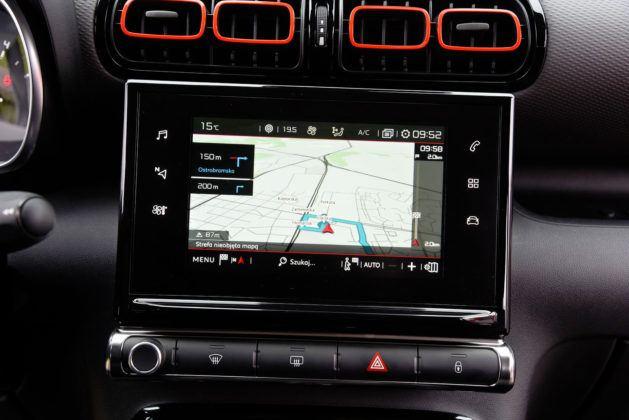Citroen C3 Aircross - system multimedialny (2)