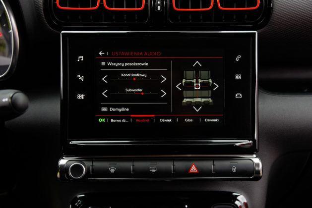 Citroen C3 Aircross - system multimedialny