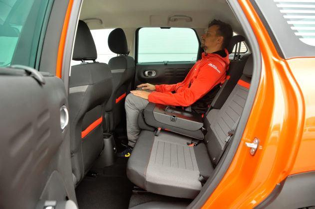 Citroen C3 Aircross - tylna kanapa