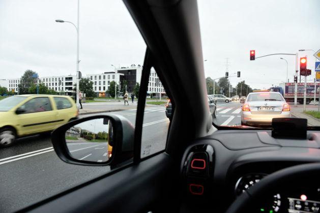 Citroen C3 Aircross - widoczność