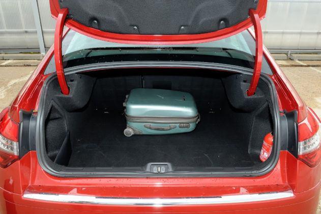 Citroen C5 II - bagażnik