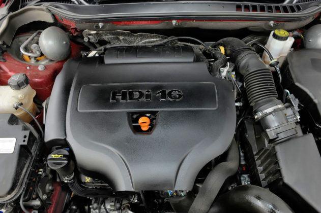 Citroen C5 II - silnik
