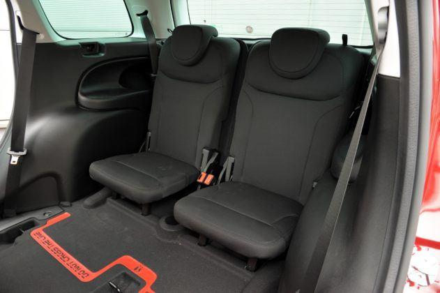 Fiat 500L Living - 3. rząd siedzeń