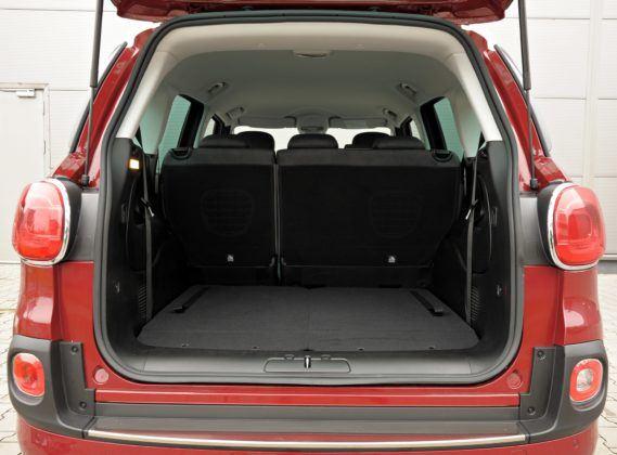 Fiat 500L Living - bagażnik