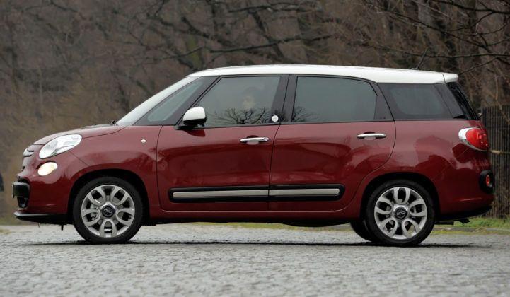 Fiat 500L Living - bok