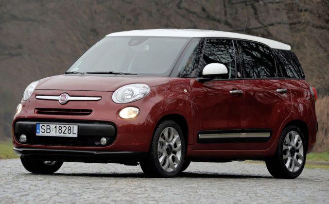 Fiat 500L Living - przód