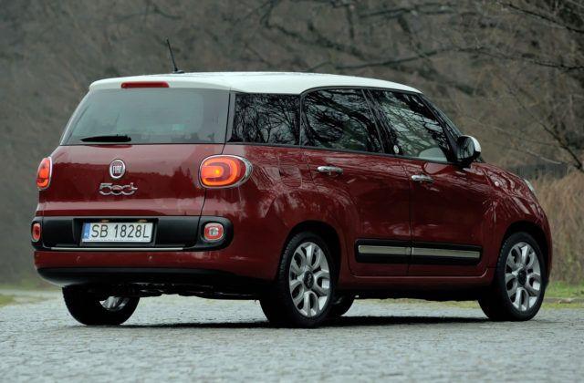 Fiat 500L Living - tył