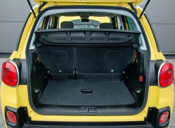 Fiat 500L - bagażnik