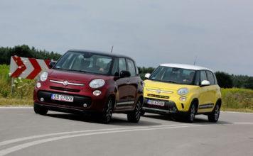 Fiat 500L - otwierające