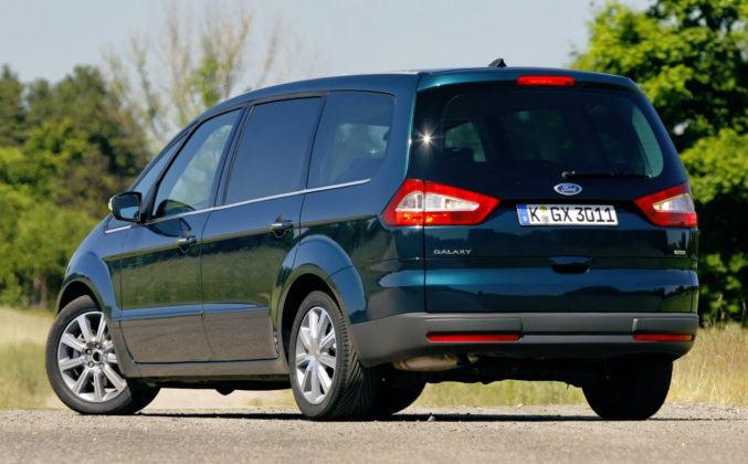 Ford Galaxy - tył