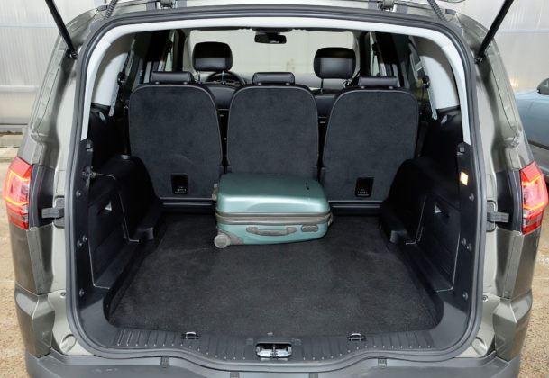 Ford S-Max - bagażnik