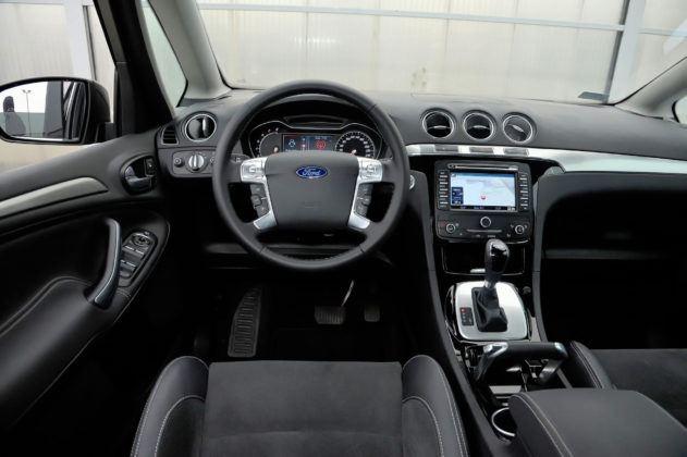 Ford S-Max - deska rozdzielcza