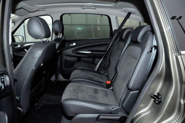 Ford S-Max - tylna kanapa