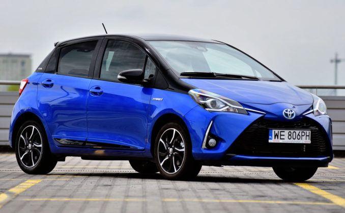 Francja - 5 - Toyota Yaris