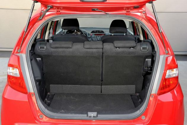 Honda Jazz III - bagażnik