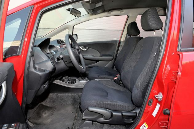 Honda Jazz III - fotel kierowcy