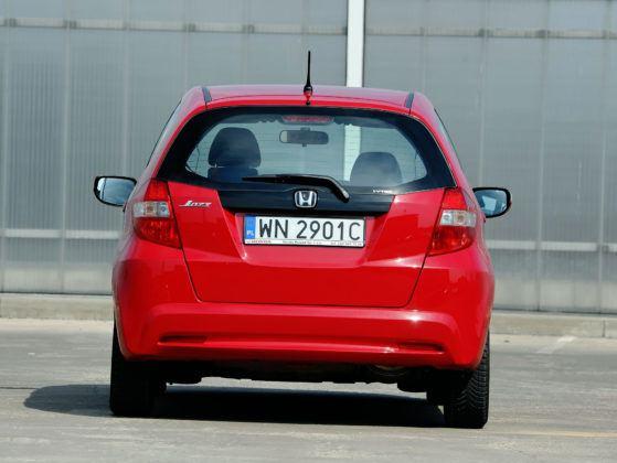 Honda Jazz III - tył
