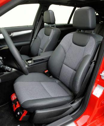 Mercedes C (W204) - fotel kierowcy