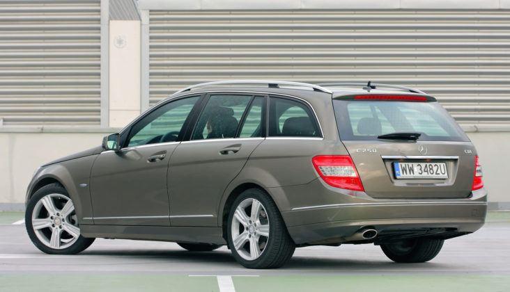 Mercedes C (W204) - tył