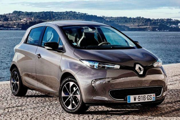 Miejsce 1 - Renault Zoe