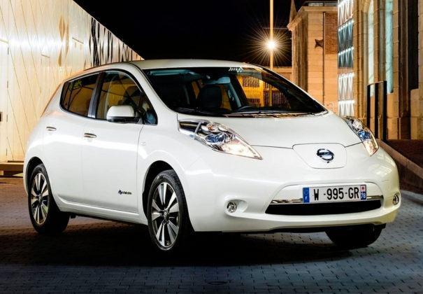 Miejsce 3 - Nissan Leaf