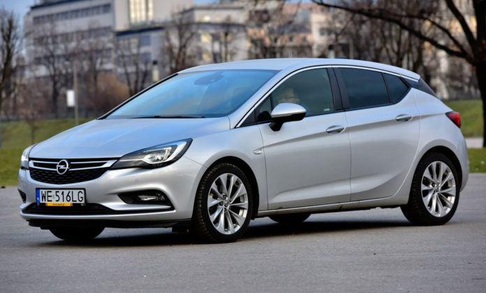 Miejsce 3 - Opel Astra