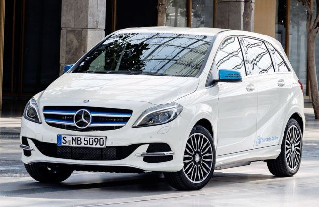 Miejsce 9 - Mercedes B Electric Drive