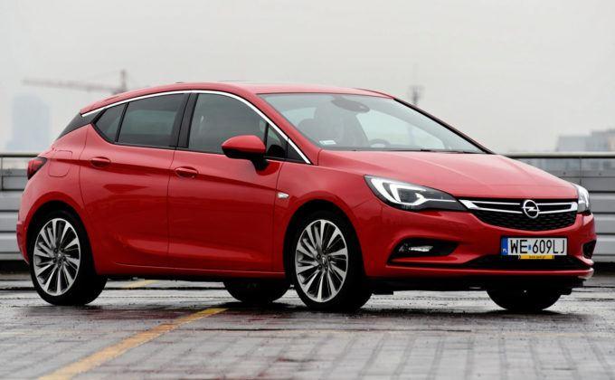 Polska - 3 - Opel Astra (5d)