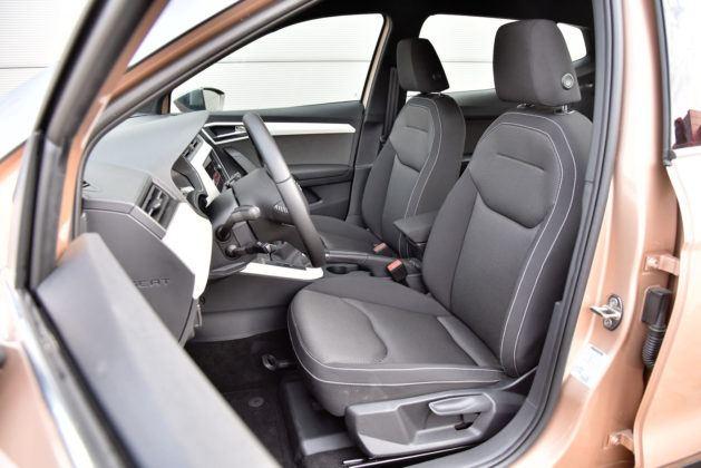 Seat Arona - fotel kierowcy