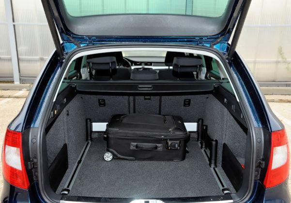 Skoda Superb II - bagażnik
