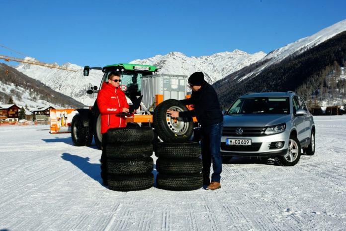 Test 8 opon zimowych do SUV