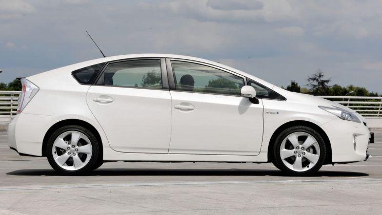 Toyota Prius III - bok