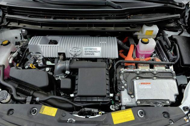 Toyota Prius III - silnik