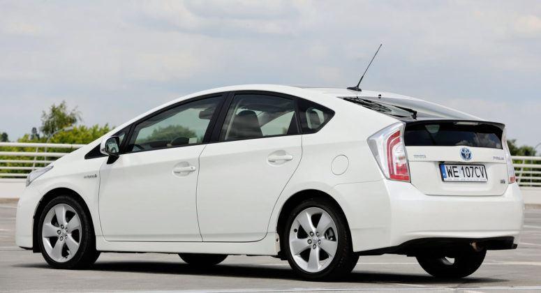Toyota Prius III - tył