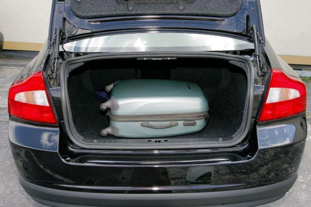 Volvo S80 II - bagażnik