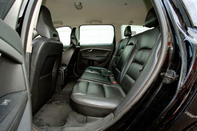 Volvo V70 III - tylna kanapa