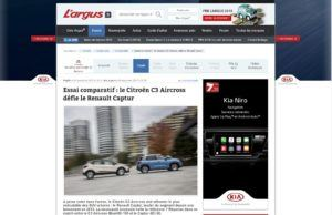 Citroen C3 Aircross - Largus.fr