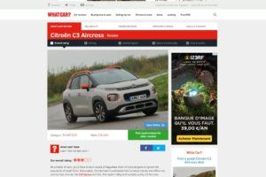 Citroen C3 Aircross - Whatcar